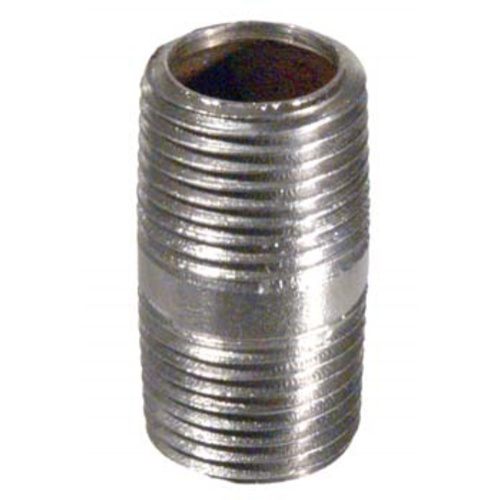 Stainless Nipple - 1/2 in. x 1 1/2 in.