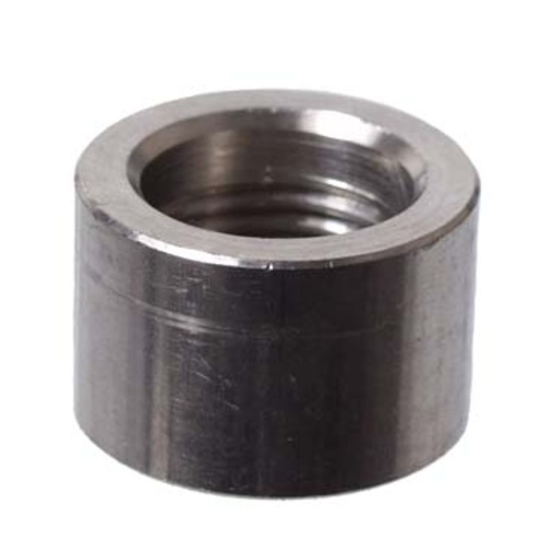Stainless Half Coupler - 3/8 in.