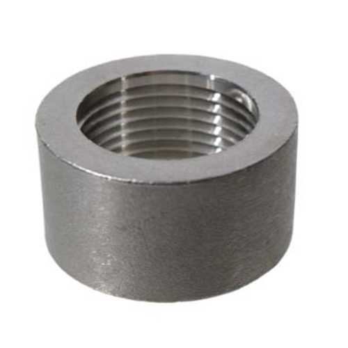 Stainless Half Coupler - 1 in.
