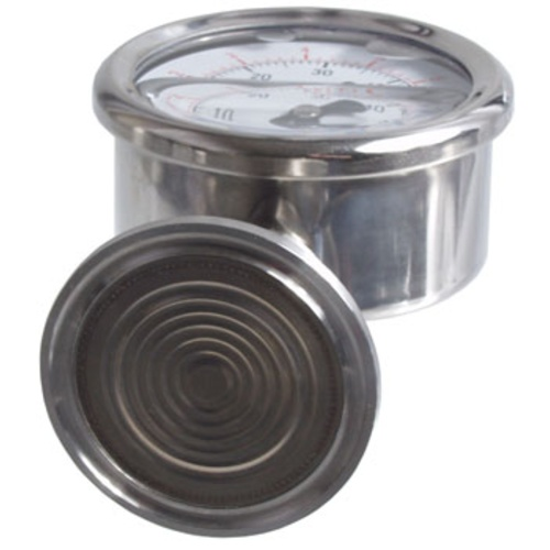 Stainless - 1.5 in. T.C. Pressure Gauge