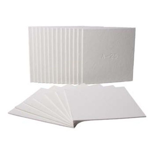 Filter Sheets - 40cm x 40cm (9-10 Micron) 100 Sheets