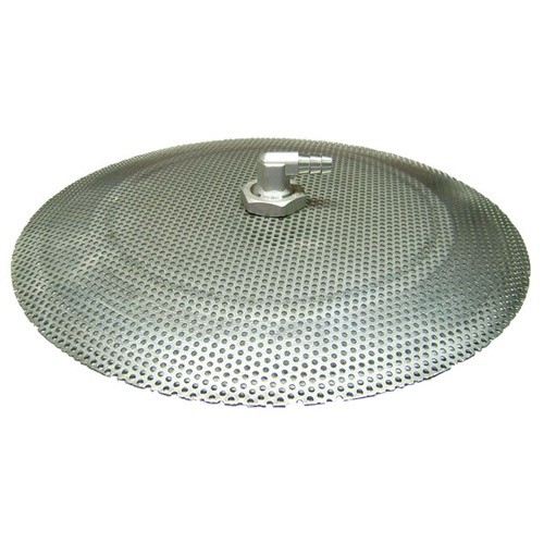 False Bottom Stainless Steel Domed - 9 in. Diameter