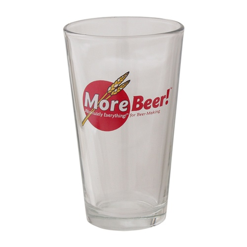 MoreBeer!® Pint Glass - 16 oz.