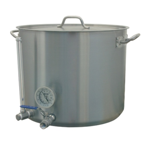 HLT - Stainless Hot Liquor Tank - 15 gal.