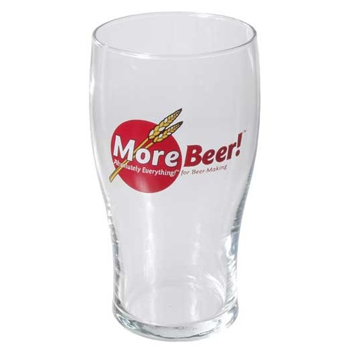 MoreBeer!® Imperial Pint Glass - 20 oz.