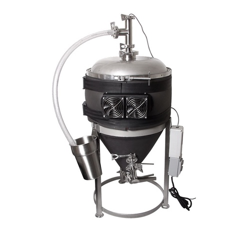 MoreBeer! Temperature Controlled Conical Fermenter - 14 gal.