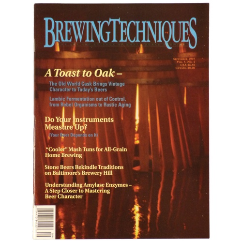 Brewing Techniques Magazine Volume 5, No. 4