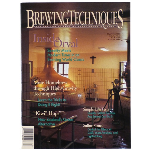 Brewing Techniques Magazine Volume 6, No. 3
