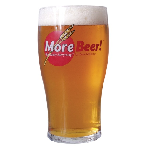 MoreBeer! Imperial Pint Glass - 20 oz.