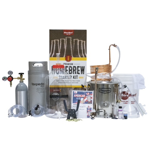 Premium Beer Brewing Kit With Kegging System!