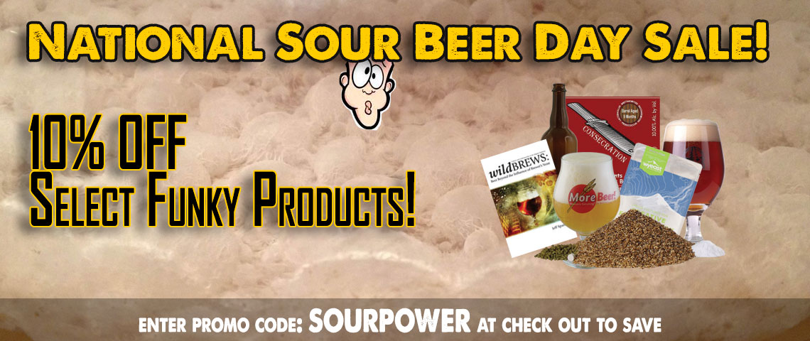 National Sour Beer Day Sale!
